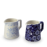Blue Calico / Asiatic Pheasant Cream Tot Set 2-Piece Gift Boxed