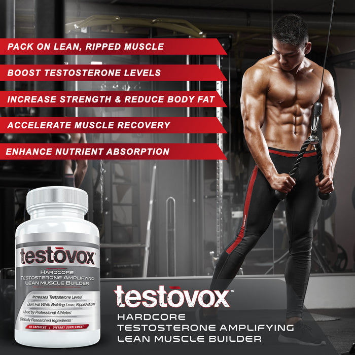 Beast Sports Nutrition Super Test Maximum + Testovox Combo