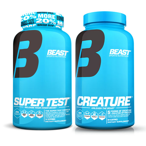 Beast Sports Nutrition Creature and Super Test Combo