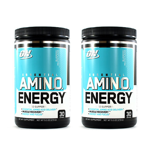 Optimum Nutrition Amino Energy Blueberry Mojito (2 Pack Combo)