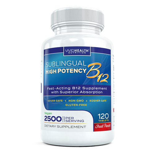 Sublingual B12 Fruit Punch