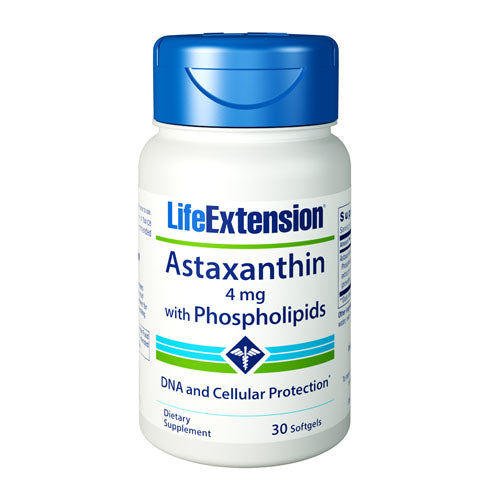 Life Extension Astaxanthin with Phopsholipids