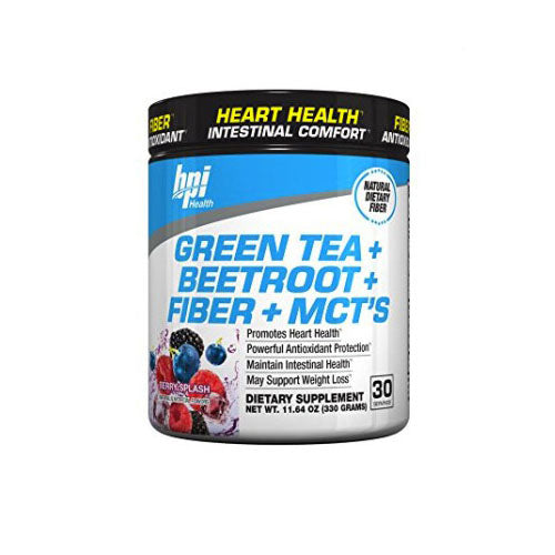 BPI Sports Green Tea plus Beetroot plus Fiber plus MCT's