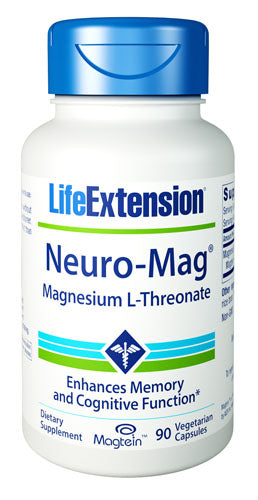 Life Extension Neuro Mag Magnesium L Threonate