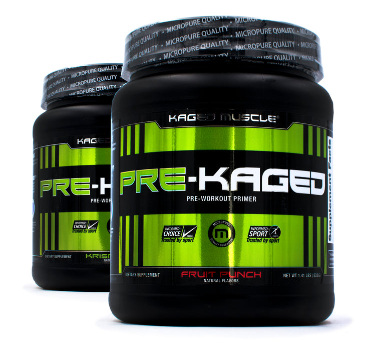 Kaged Muscle Pre Kaged 2-Fer Deal!