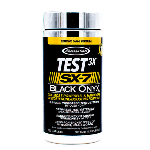 MuscleTech Test 3X SX 7 Black Onyx