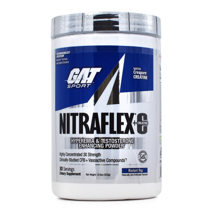 GAT Nitraflex Plus C and Testovox Combo