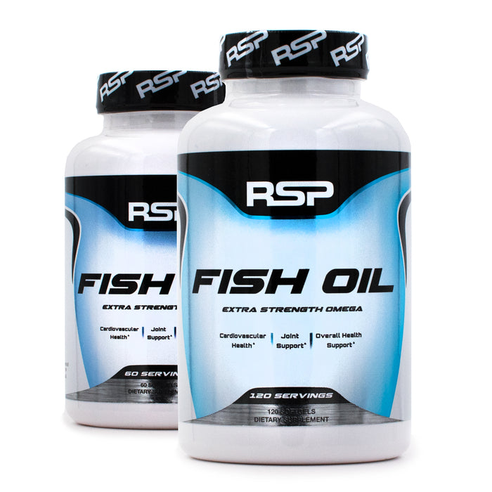 RSP Nutrition Fish Oil Extra Strength
