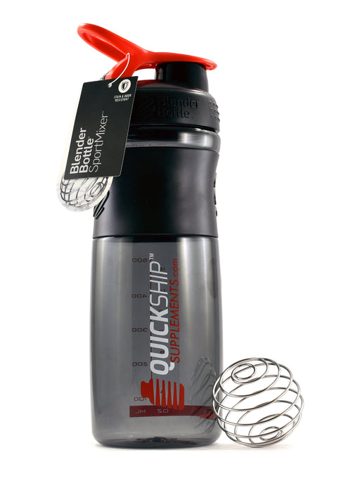 Quick Ship Supplements Sporty Shaker Bottle