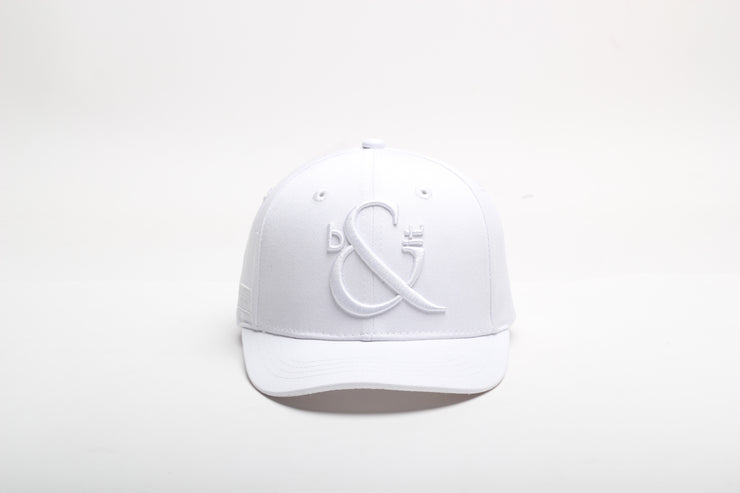 Children's White Baseball Cap
