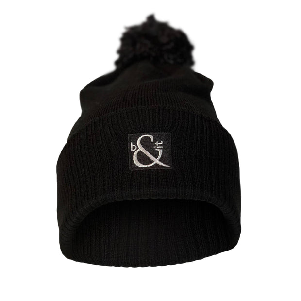Standard Badge Beanie with Bobble
