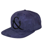 Purple Suede SnapBack