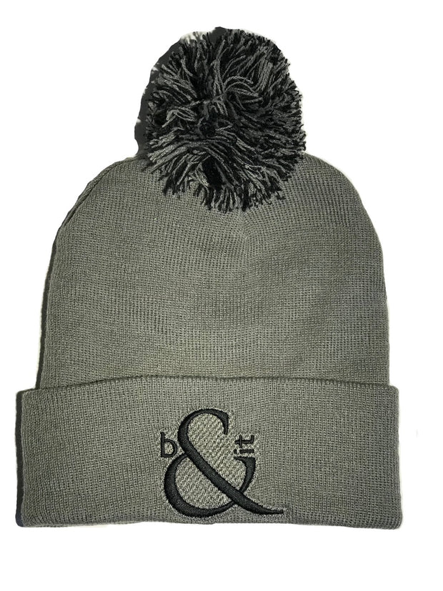 Standard Large Logo Beanies with Bobble