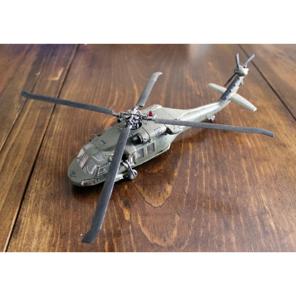 1/72 Us Uh-60 Helicopter (#85006) (Out Of Package) Miniatures Games/historical Miniatures