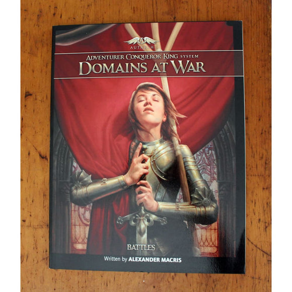 Acks Domains At War: Battles Book Role Playing Games/d&d & Pathfinder & Osr Games
