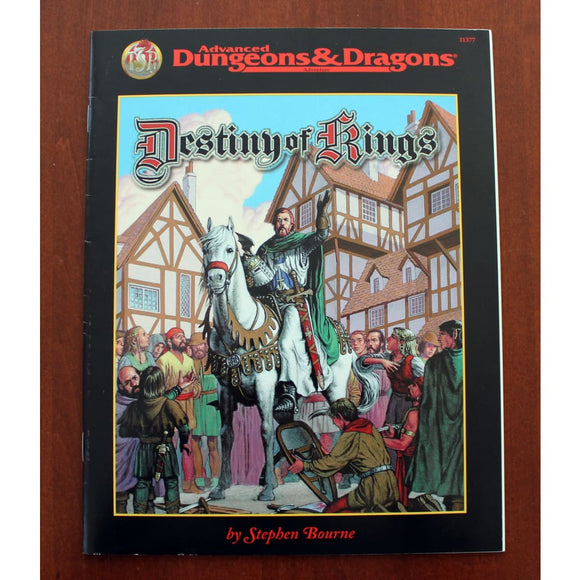 Advanced Dungeons & Dragons 2Nd Ed Destiny Of Kings Role Playing Games/d&d & Pathfinder & Osr Games
