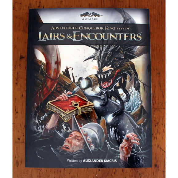Adventurer Conqueror King System (Acks) Lairs & Encounters Role Playing Games/d&d & Pathfinder & Osr Games