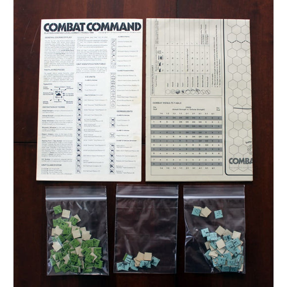 Combat Command War Game Board Games & Card Games/war Games