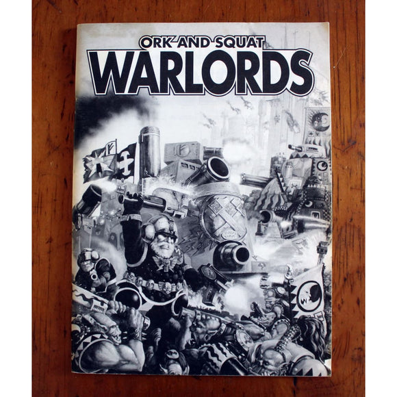 Epic Space Marine Ork And Squat Warlords Rulebook Miniatures Games/science Fiction Miniatures/epic 40 000 & Titan Legions