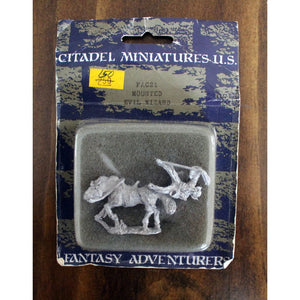 Fantasy Adventurers Cavalry Fac21 Mounted Evil Wizard Miniatures Games/fantasy Miniatures/other Fantasy Miniatures