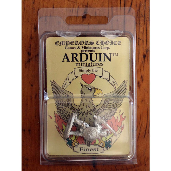Fantasy Personalities 841 Evil Warrior Miniatures Games/fantasy Miniatures/emperors Choice Arduin Minis