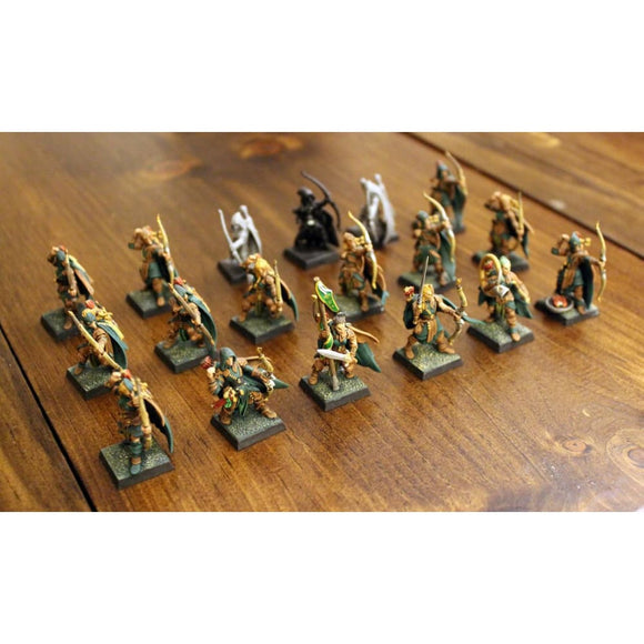 Glade Guard (18 Miniatures) (15 Painted) Miniatures Games/fantasy Miniatures/warhammer Fantasy