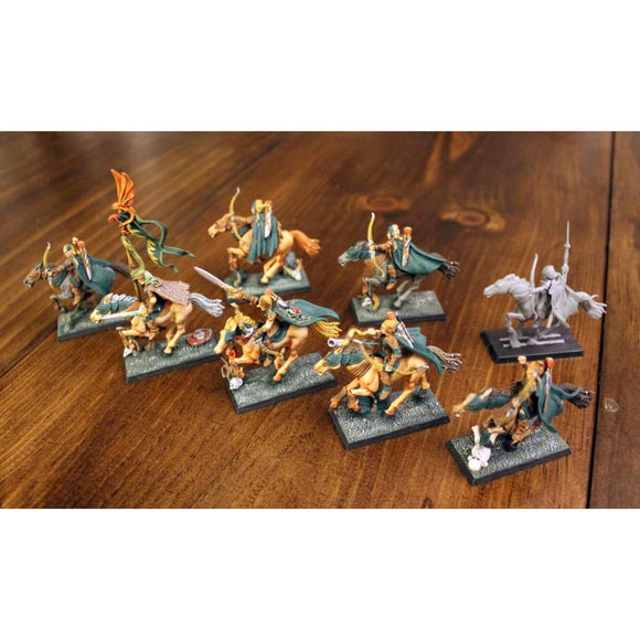 Glade Riders (8 Miniatures) (7 Painted) Miniatures Games/fantasy Miniatures/warhammer Fantasy