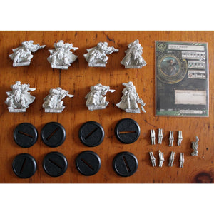 Hordes Circle Orboros Reeves Of Orboros Unit (8 Metal Miniatures) Miniatures Games/fantasy Miniatures/warmachine/hordes