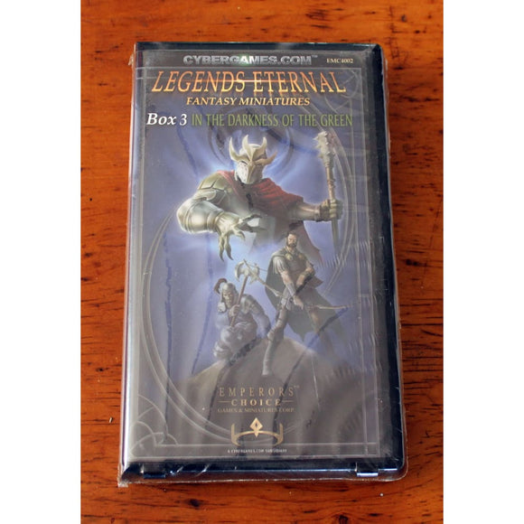Legends Eternal Box 3 In The Darkness Of The Green (Fantasy Personalities) Miniatures Games/fantasy Miniatures/emperors Choice Arduin Minis