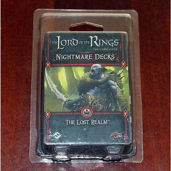 Lord Of The Rings Lcg The Lost Realm Nightmare Decks Triple Pack Board Games & Card Games/other Card Games