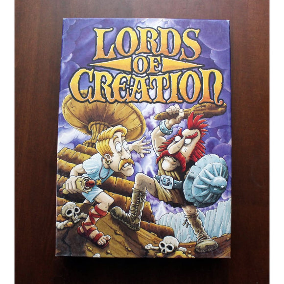 Lords Of Creation Board Game Board Games & Card Games/war Games