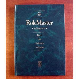 Rolemaster Rpg Almanach Buch Des Arkanen Wissens (In German) Role Playing Games/fantasy Rpgs