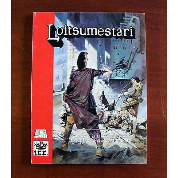 Rolemaster Spell Law Roolimestari Loitsumestari (In Finnish) Role Playing Games/fantasy Rpgs