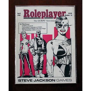 Roleplayer The Gurps Newsletter Issue 19 April 1990 Magazines/rpg Magazines/other Rpg Magazines