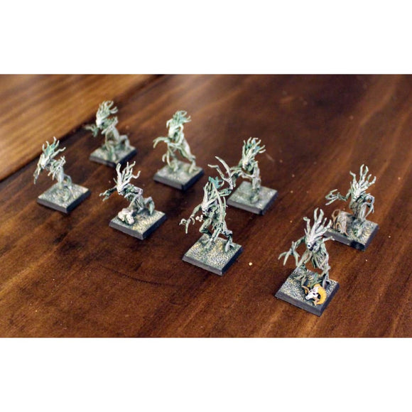 Sylvaneth Branchwraiths (8 Miniatures) (Painted) Miniatures Games/fantasy Miniatures/warhammer Fantasy