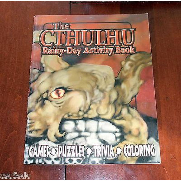 The Cthulhu Rainy-Day Activity Book Role Playing Games/other Rpgs