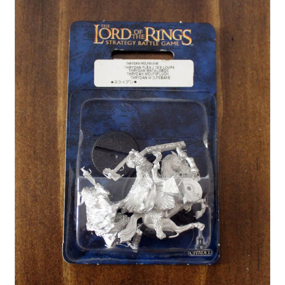 Thrydan Wolfsbane Pack Miniatures Games/fantasy Miniatures/lord Of The Rings Miniatures
