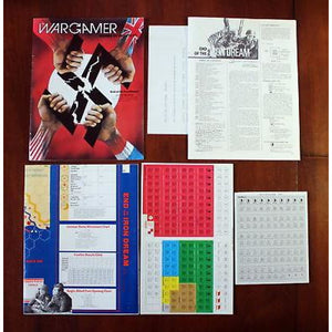 Wargamer Issue # 42 With End Of The Iron Dream War Game 1985 3W Unpunched