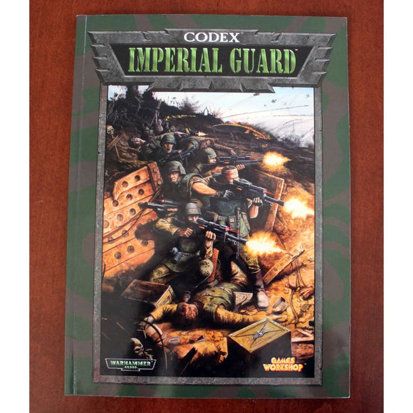 Warhammer 40 000 Codex Imperial Guard (1999) Miniatures Games/science Fiction Miniatures/warhammer 40 000