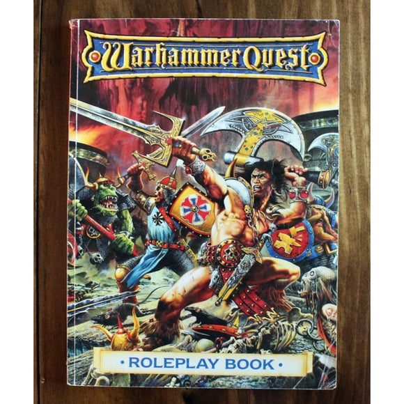 Warhammer Quest Roleplay Book Miniatures Games/fantasy Miniatures/warhammer Fantasy