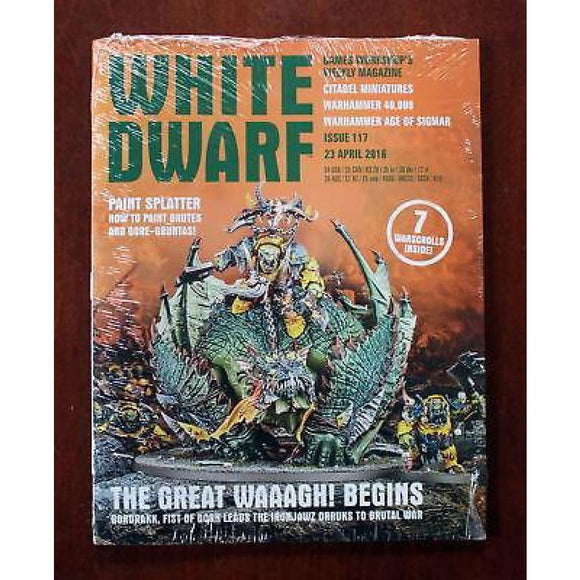 White Dwarf Weekly Issue 117 23 April 2016 Magazines/warhammer Magazines/white Dwarf (Weekly)