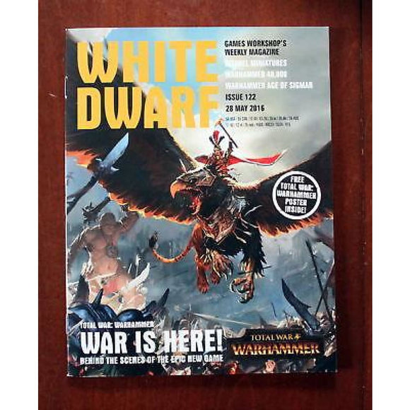 White Dwarf Weekly Issue 122 28 May 2016 (Poster Included) Magazines/warhammer Magazines/white Dwarf (Weekly)