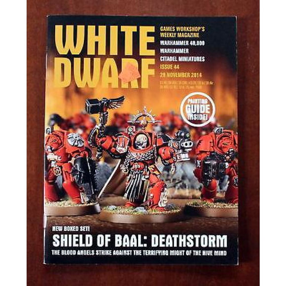 White Dwarf Weekly Issue 44 29 November 2014 Magazines/warhammer Magazines/white Dwarf (Weekly)