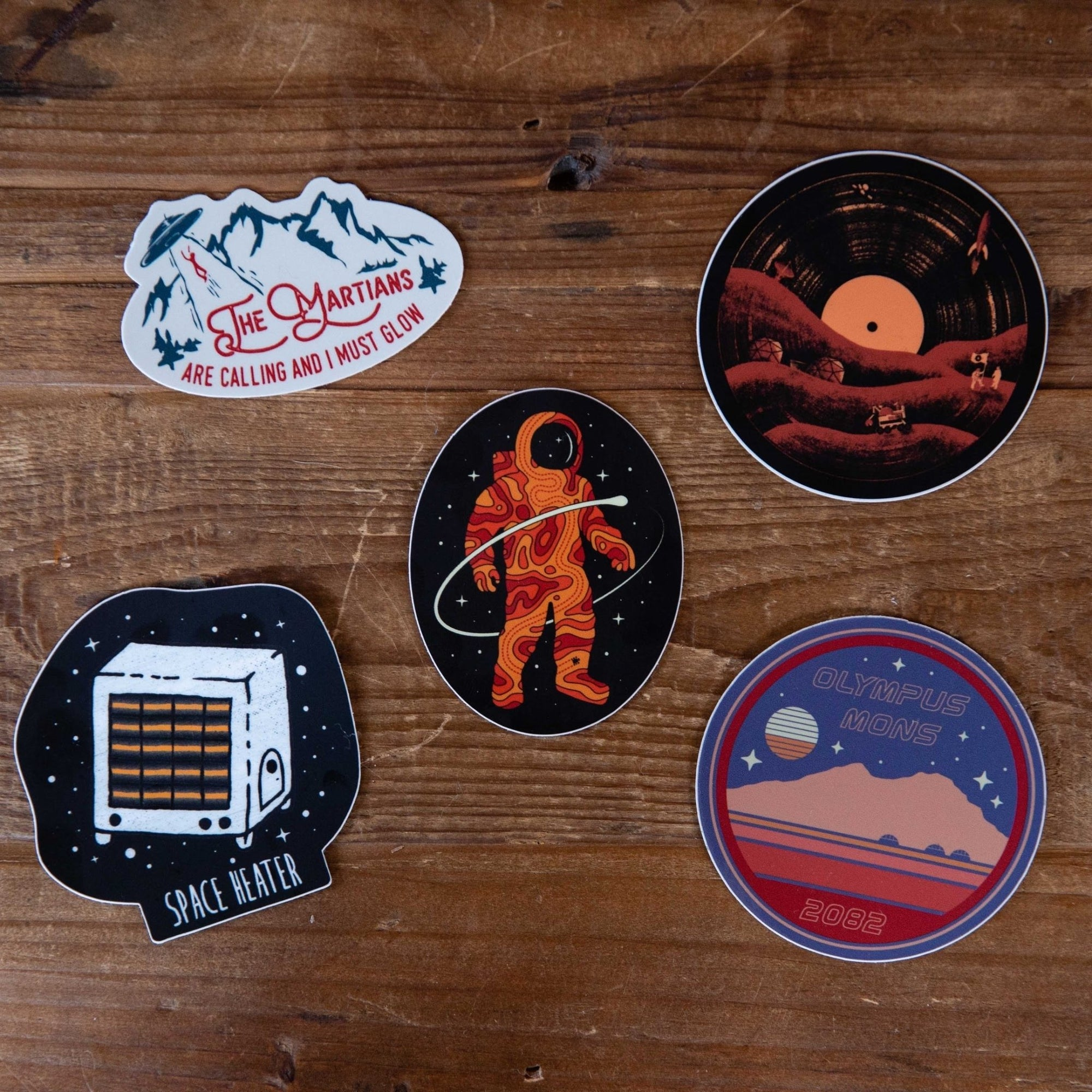 Space Sticker Pack - menottees