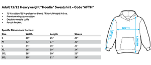 Hoodie Adventure Time - Swords Adult Pull Over