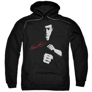 Hoodie Bruce Lee - The Dragon Awaits Adult Pull Over