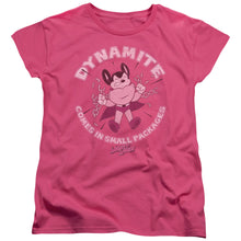 Mighty Mouse - Dynamite Short Sleeve Women's Tee