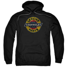 Hoodie Chevrolet - Genuine Chevy Parts Distressed Sign Adult Pull Over