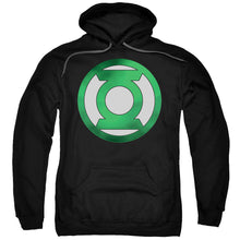 Hoodie Green Lantern - Green Chrome Logo Adult Pull Over