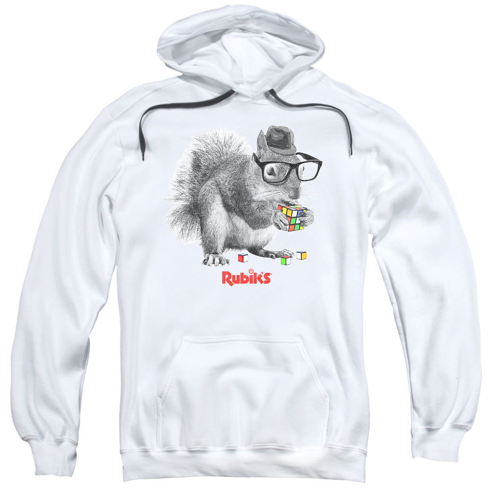 Hoodie Rubik's Cube - Nerd Squirrel Adult Pull Over